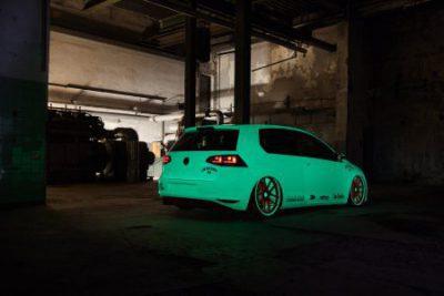 Pintura y spray luminiscente para coche