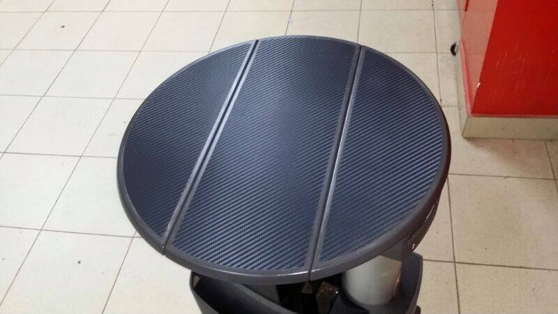 ¿Una mesa de Volkswagen Transporter en carbono? Con 3M es posible.