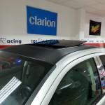 Dodge Avenger techo solar y lámina carbono 3M