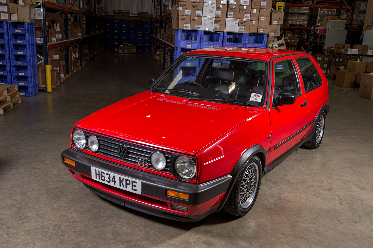 Restauración de VW Golf MK2 GTI sólo con productos Meguiar's en UK