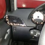 interior vinilo leopardo peugeot 207