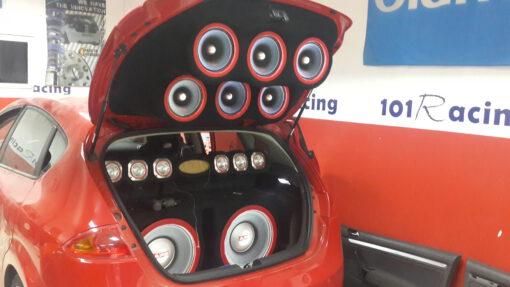 Instalación de car audio personalizada
