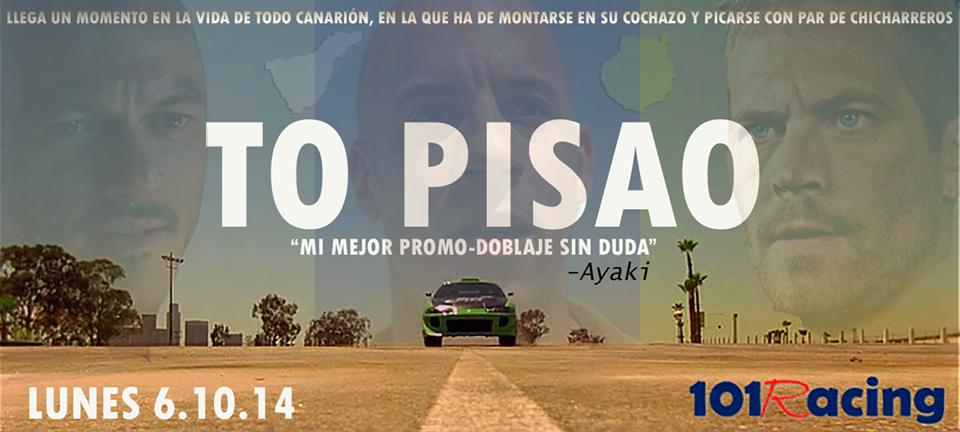 Nueva producción de Ayaki y 101Racing: To Pisao