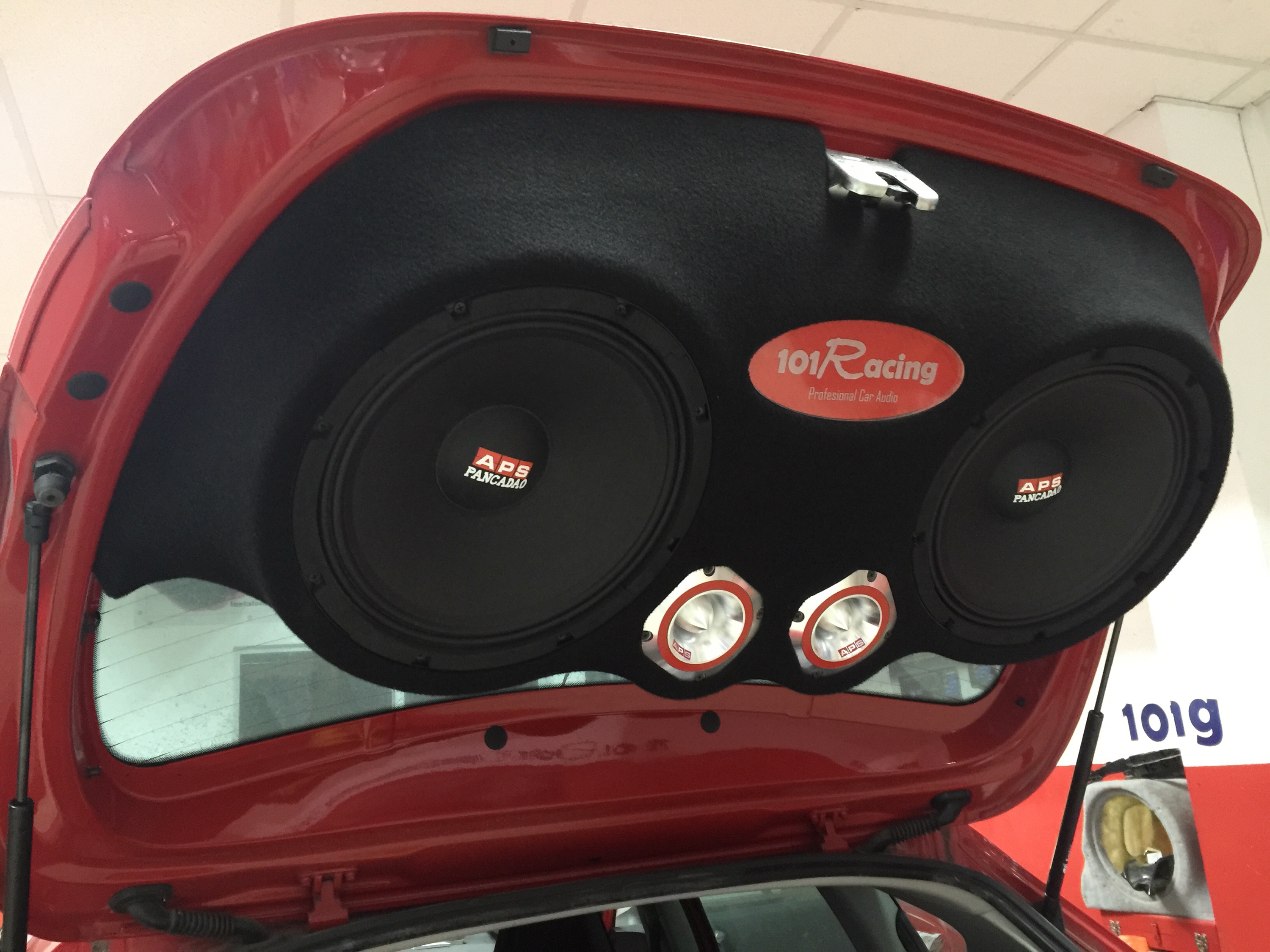 Seat León car audio extremo con APS