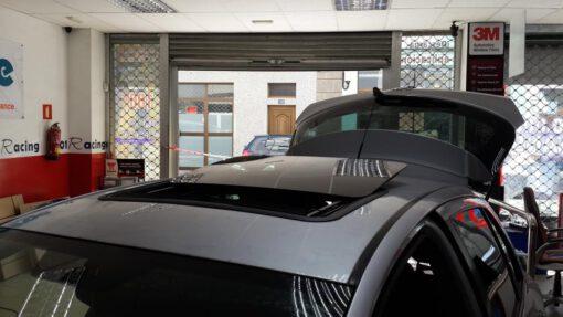 Techo solar Webasto Hollandia 300 NSG para Toyota instalado en Canarias