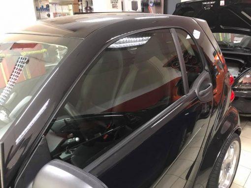 Laminado de ventanas delanteras del coche