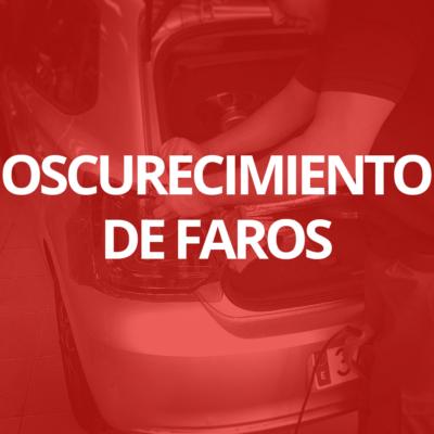 Oscurecimiento de los faros del coche en Las Palmas