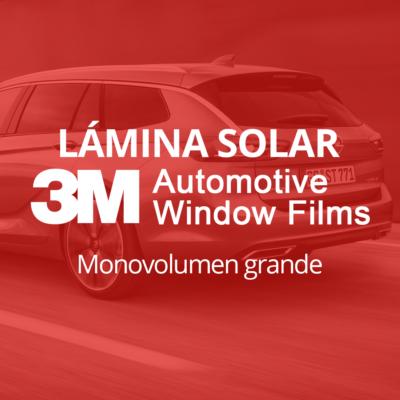 Servicio de instalación de lámina solar para lunas de monovolumen grande en 101Racing