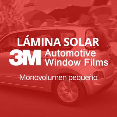 Servicio de instalación de lámina solar para lunas de monovolumen pequeño en 101Racing