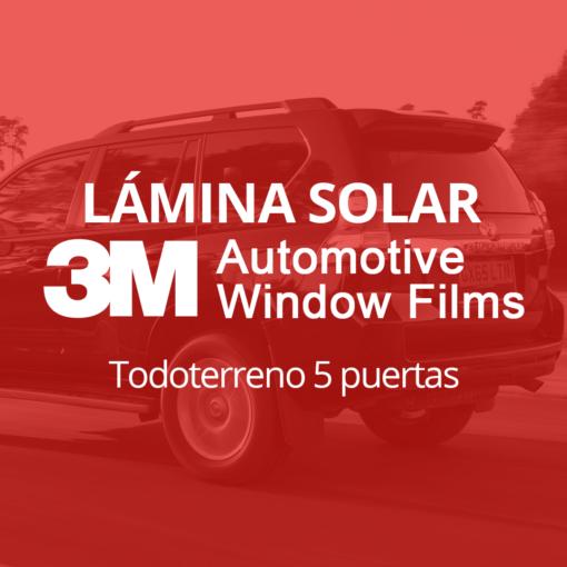 Servicio de instalación de lámina solar para lunas de todoterreno de 5 puertas en 101Racing