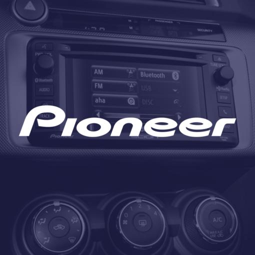 Venta de productos CarAudio de la marca Pioneer en 101Racing