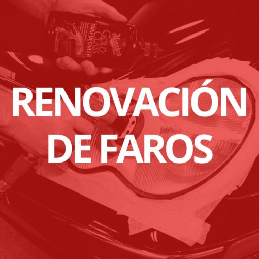 Servicio de renovación de faros de coche en 101Racing