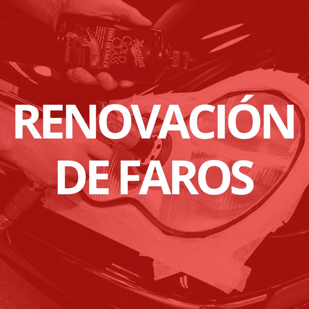 Renovación y pulido de faros en Las Palmas de Gran Canaria