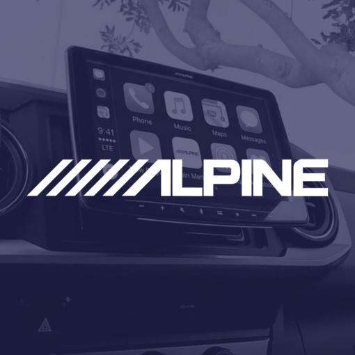 Venta de productos CarAudio de la marca Alpine en 101Racing