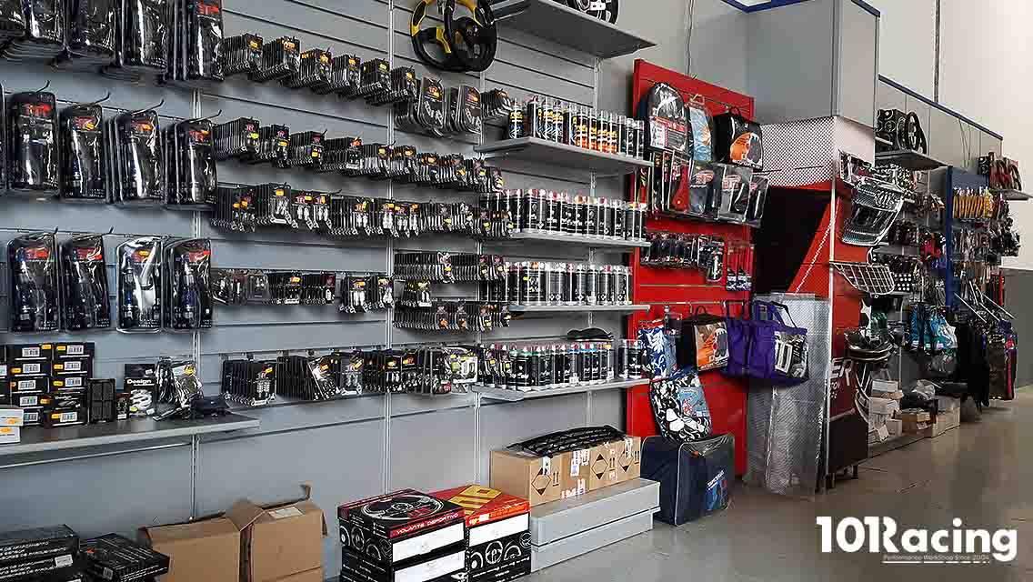 Tienda de accesorios para automóvil en El Sebadal