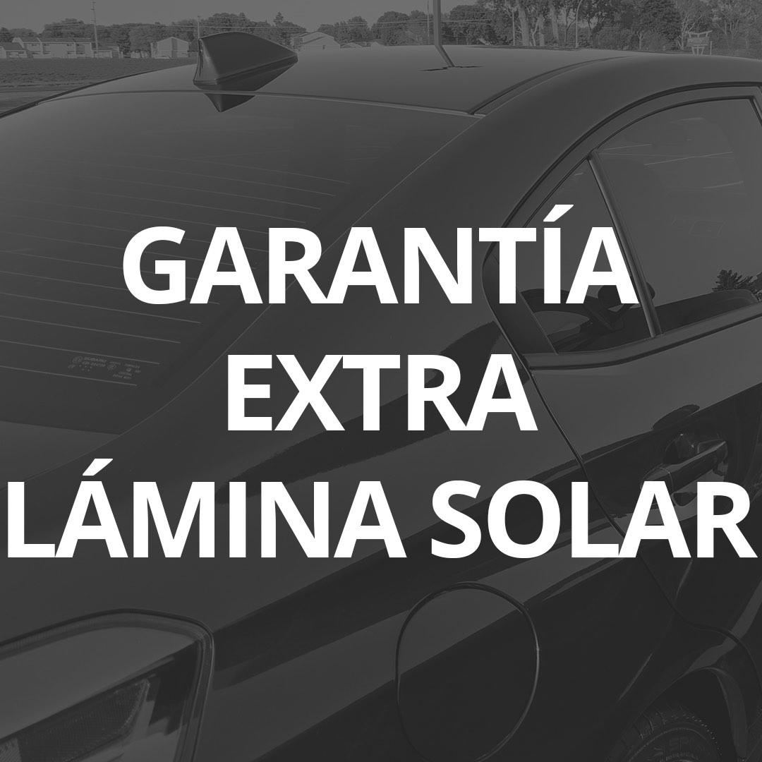 Garantía 101Racing Extra Lámina Solar 3M
